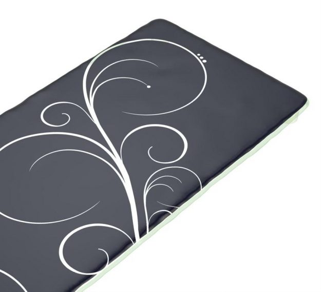 Stylish Dark Vavy Blue Platters Designed by Anna Vasily. - detail view
