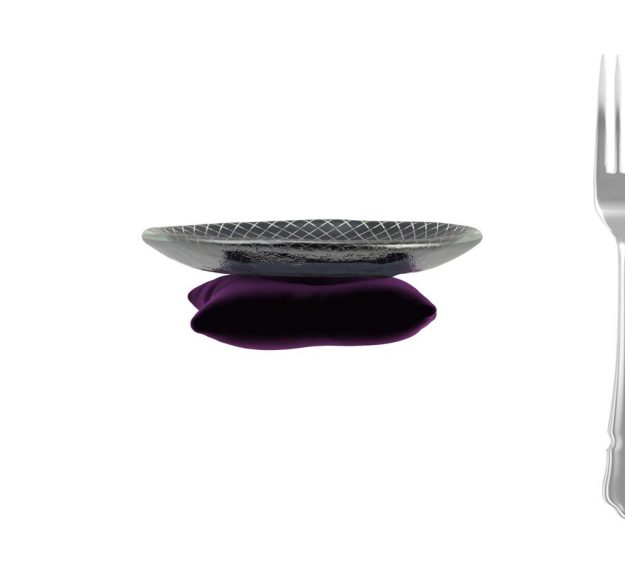 A Small Macaroons Plate. A Throne for Your Macaroons by Anna Vasily. - measure view