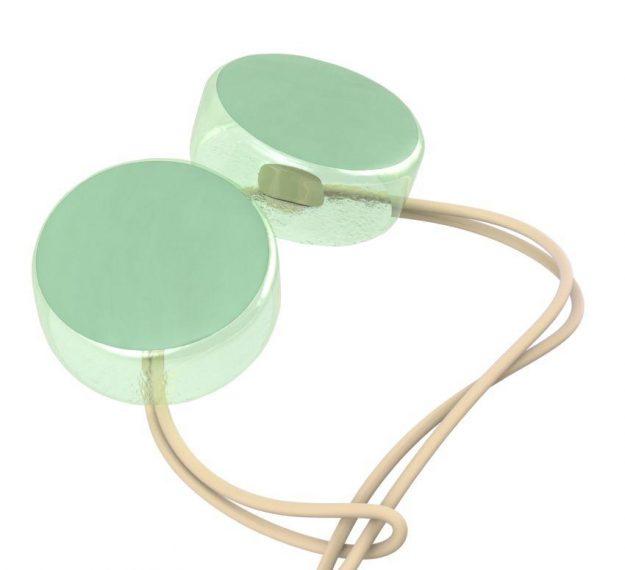 Mint Green Round Napkin Holders. An Elegant Detail by Anna Vasily - detail view