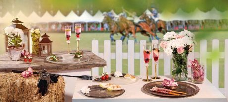 Luxury table setting with the theme Portsea Polo